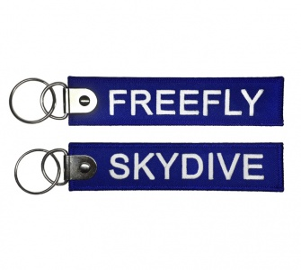 Брелок SKYDIVE / FREEFLY синий