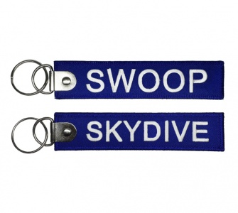 Брелок SKYDIVE / SWOOP синий